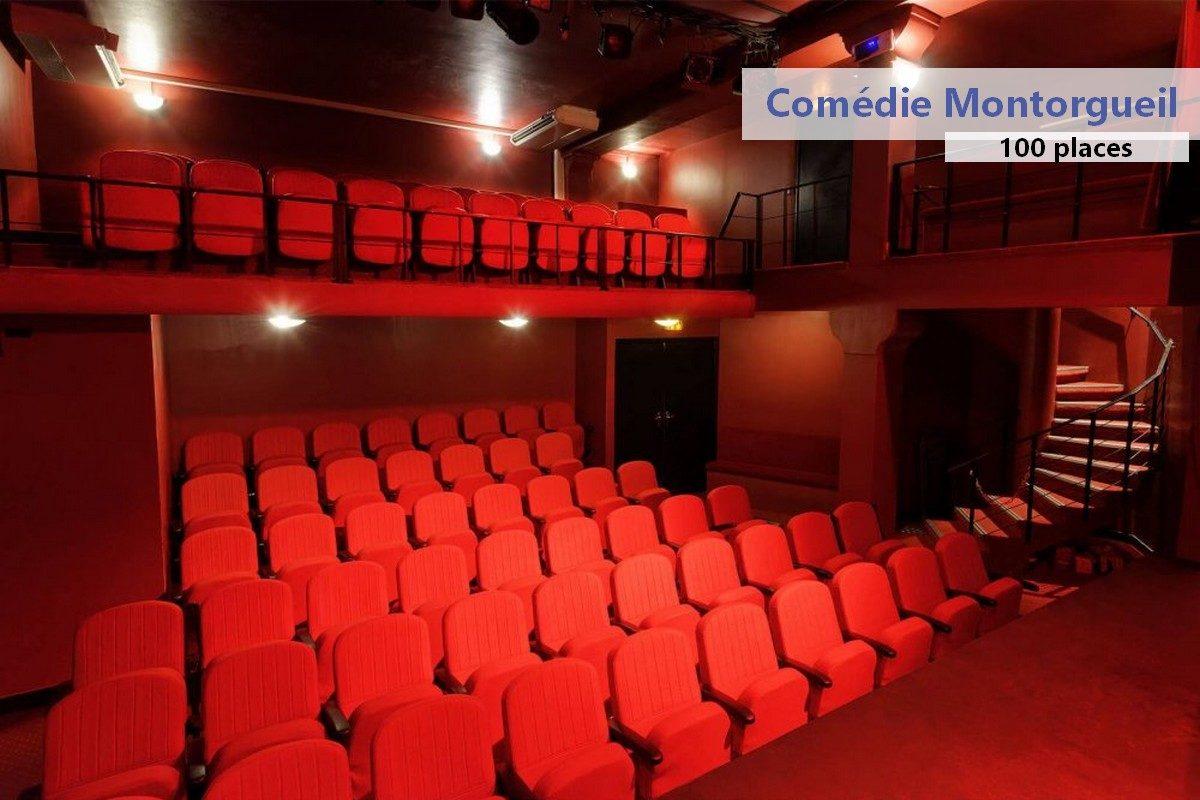 Théâtre parisien situé au coeur de Paris