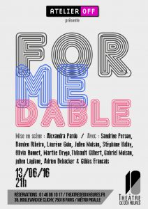 Affiche - For Me Dable