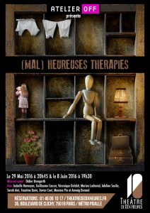 Affiche - (MAL) HEUREUSES THERAPIES